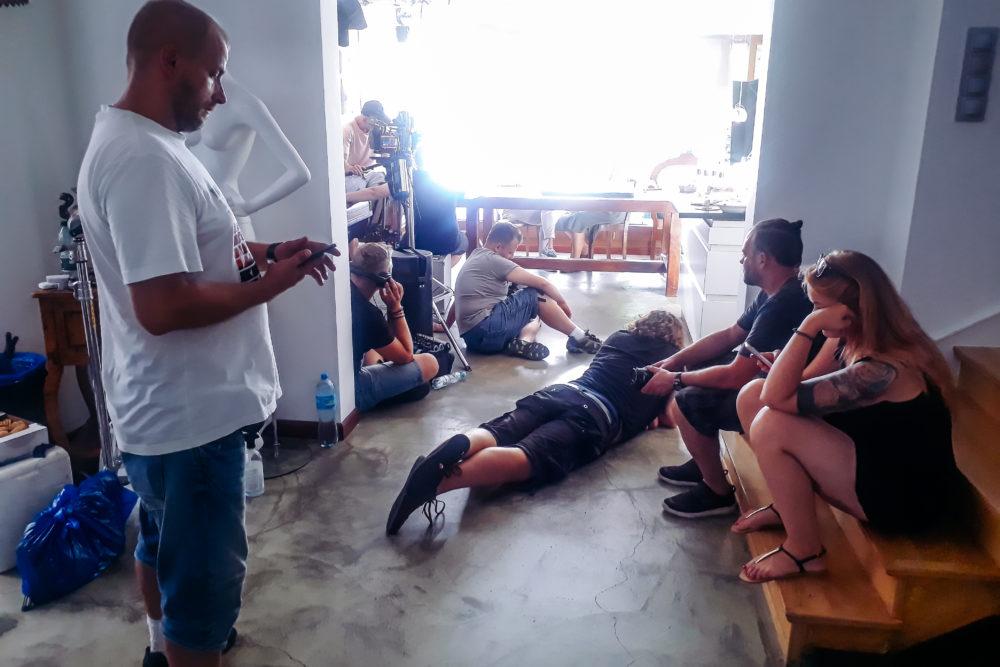 ekipa filmowa w naszym studio