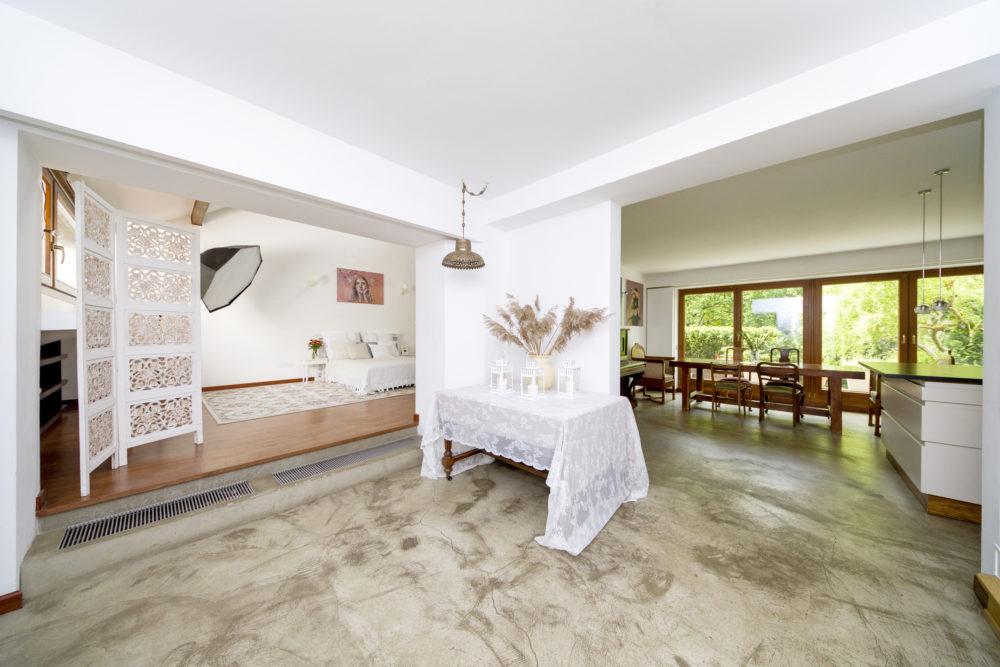 plany fotograficzne salon i kuchnia