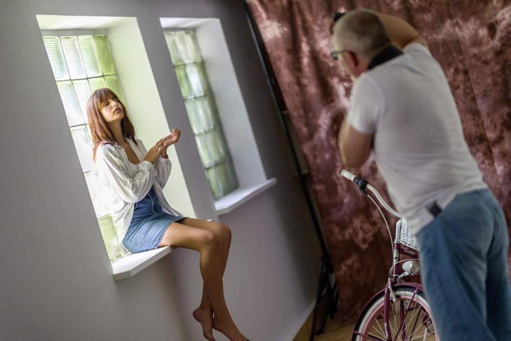 sesja plan zdjęciowy modelki fotografowie event zdjęcia warszawa przestrzen kreatywna